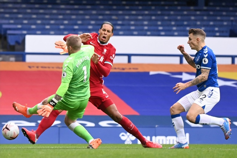 Van Dijk back in action after injury. AFP