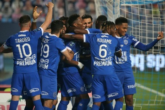 Troyes return to France's elite backed by Manchester City owners