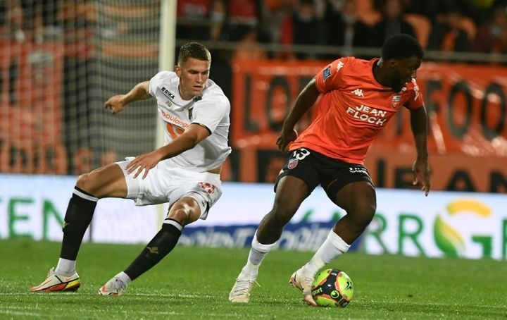 Lorient down champions Lille. AFP