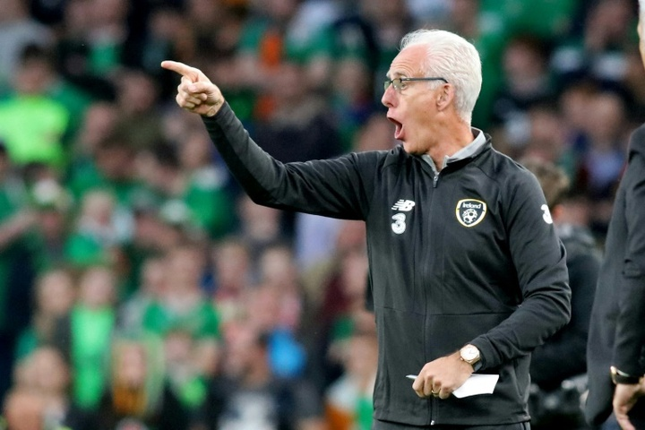 Cardiff manager Mick McCarthy saw his side well beaten in the South Wales derby. AFP