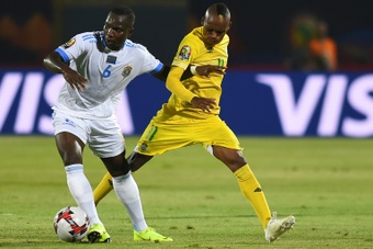 Khama Billiat (R) scored for the Kaizer Chiefs. AFP