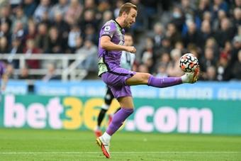 Harry Kane scored as Tottenham beat Newcastle 2-3. AFP