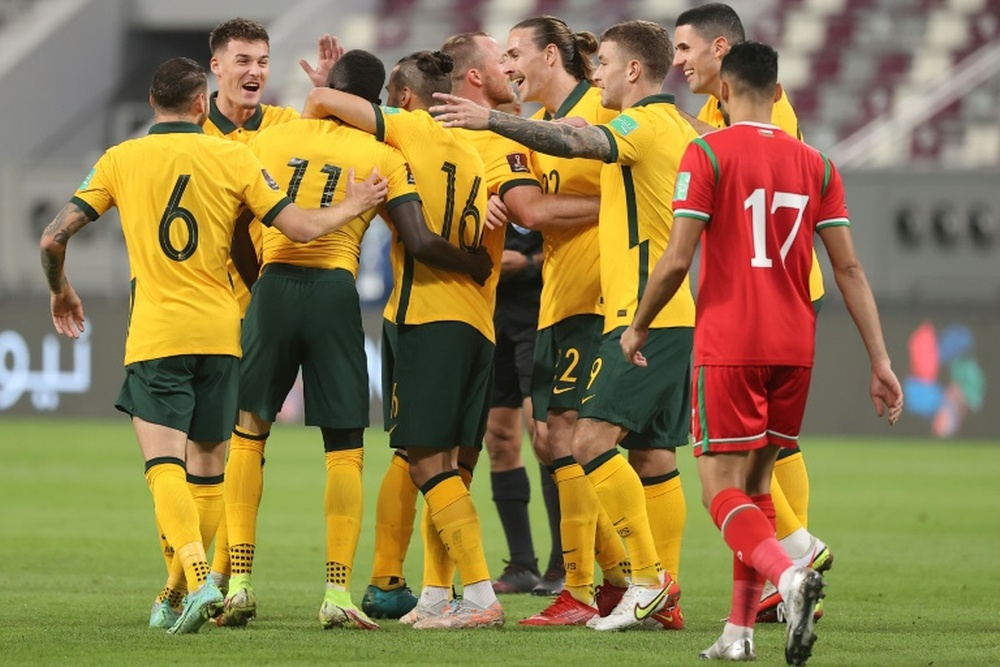 Australia have won 11 straight World Cup qualifiers. AFP