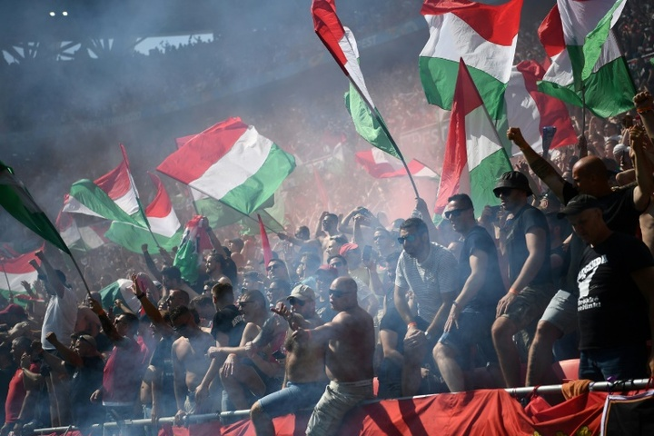Hungary will face England in World Cup qualifying at a packed stadium in Budapest. AFP