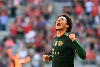 Defensive Sane turns whistles into ovations from Bayern fans. AFP