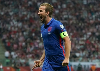 Harry Kane scored but England were held in Poland. GOAL