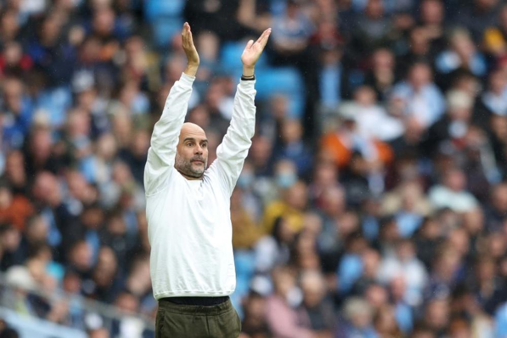 Guardiola unrepentant over Man City fan plea. AFP