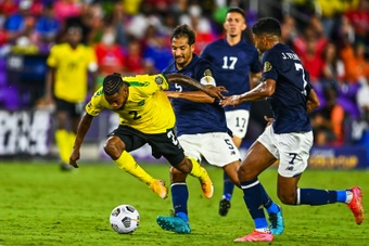 Costa Rica edge Jamaica to claim Group C at Gold Cup. AFP