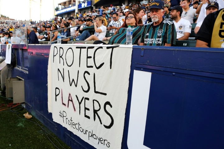Embattled NWSL moves championship game from Portland to Louisville. AFP