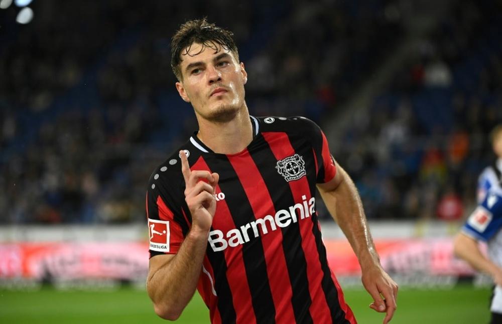 Hard-working Schick's Euro form inspires Leverkusen. AFP