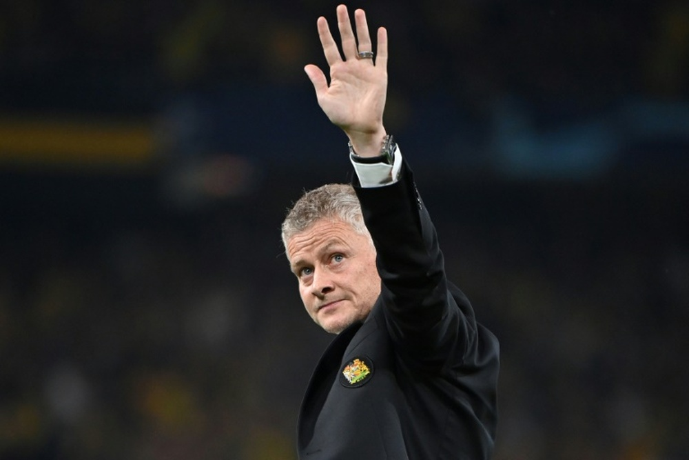 Solskjaer demands Man Utd response after Champions League defeat. AFP