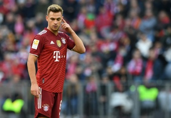 Kimmich has been heavily criticised for revealing he chose not to get vaccinated. AFP