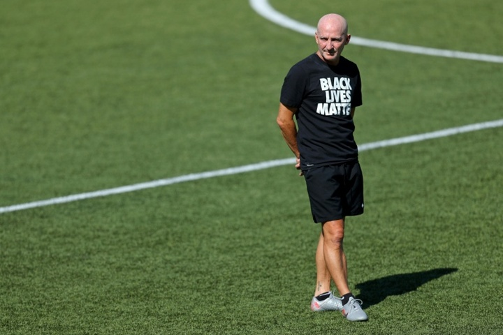 North Carolina Courage coach Paul Riley has been fired by the NWSL club. AFP