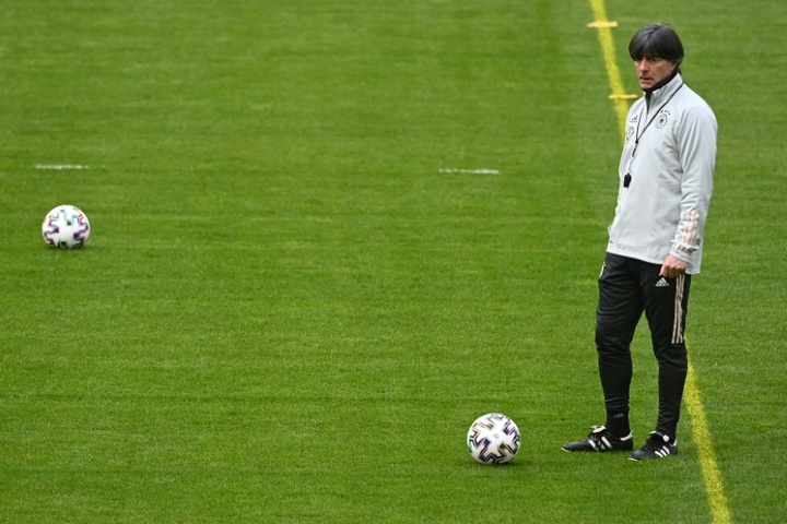 Joachim Low wants a reaction after Germany's 6-0 loss to Spain. AFP
