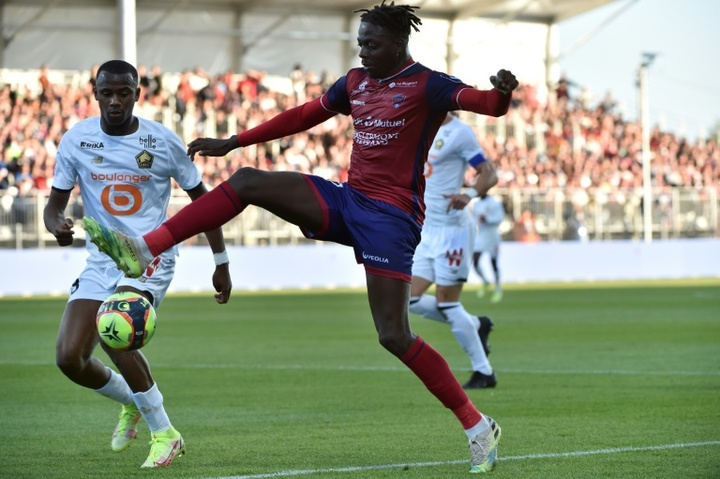 Mohamed Bayo came through Clermonts academy and made his club debut in 2017. AFP