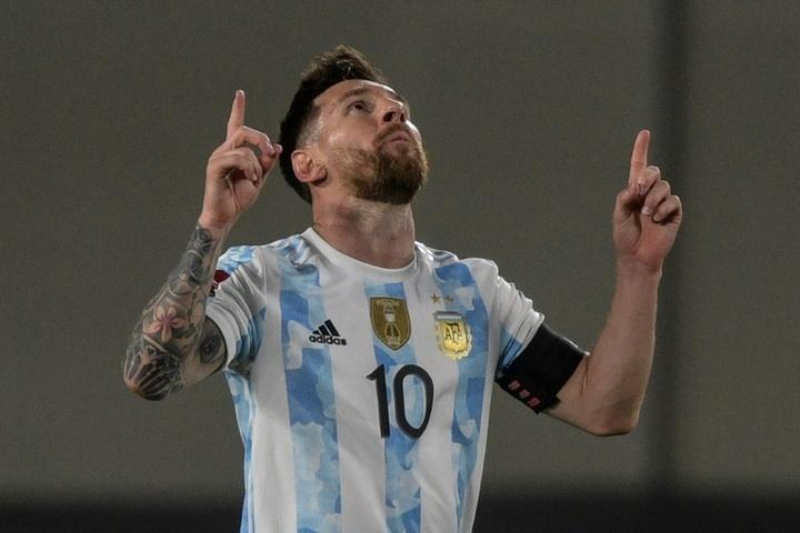 Messi's Argentina thrash Uruguay, Brazil lose 100% qualifying record.