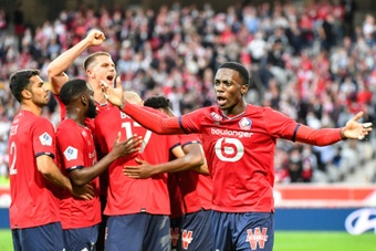 Lille got the three points after being Reims. AFP