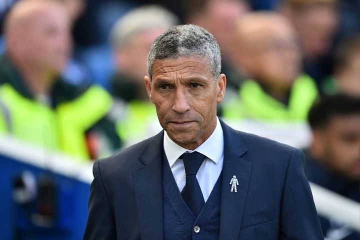 Chris Hughton has been sacked by Championship club Nottingham Forest. AFP
