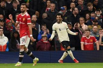 Mohamed Salah became the highest-scoring African player in Premier League history. AFP