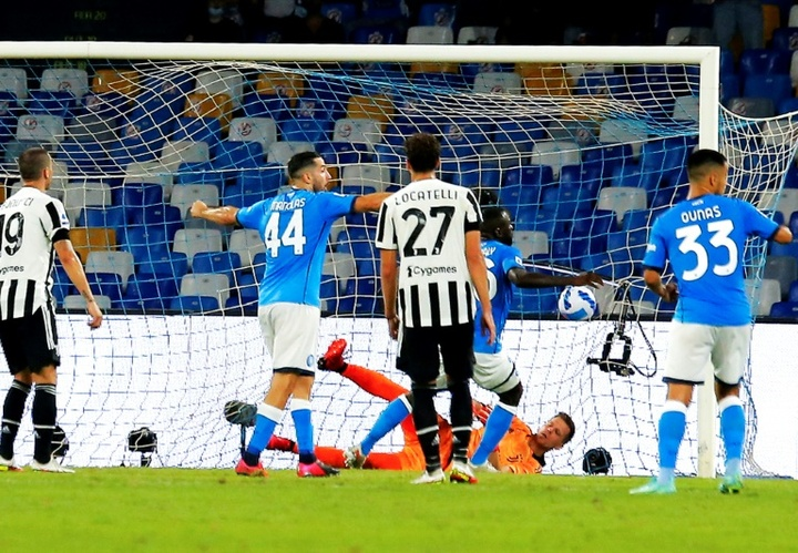 Kalidou Koulibaly inflicted more misery on Juventus. AFP