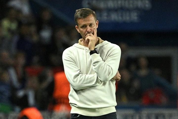 Jesse Marsch rues his sides mistakes at Paris Saint-Germain. AFP