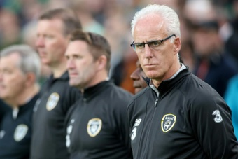 Cardiff manager Mick McCarthy is under pressure after four straight losses. AFP