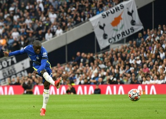 Kante was the game-changer sub in the London derby. AFP