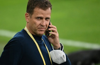 Oliver Bierhoff is against a World Cup every two years. AFP