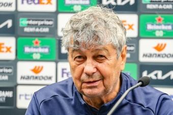 Lucescu wins title with Kiev in his first season in charge. AFP