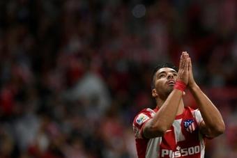 Suarez scored against his former club. AFP