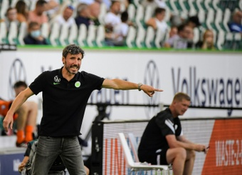 Wolfsburg knocked out of the cup by a mistake. AFP