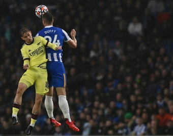 Brighton were the better team on the pitch. AFP