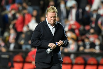 Koeman sacked as Barcelona coach with Xavi the favourite to come in. AFP