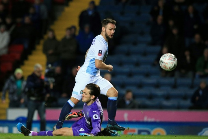 Adam Armstrong has completed the move to Southampton from Blackburn. AFP