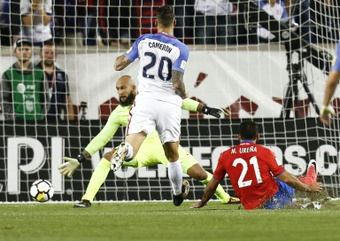 US in peril as Urena double delivers for Costa Rica. AFP
