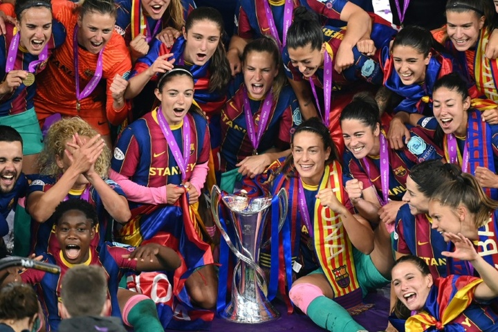 Barca launch defence of new-look Women's Champions League. AFP