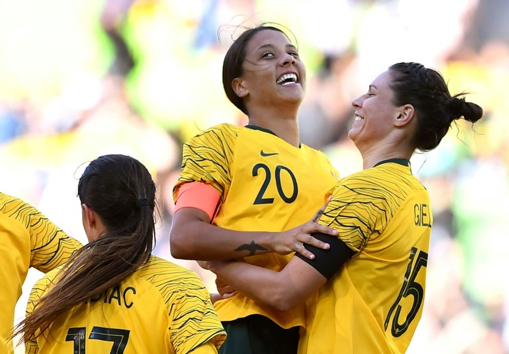 Kerr and Matildas defend team culture after harassment claims. AFP