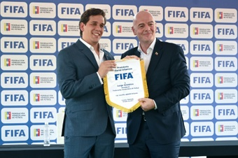 Infantino says biennial World Cup gives countries chance to dream.