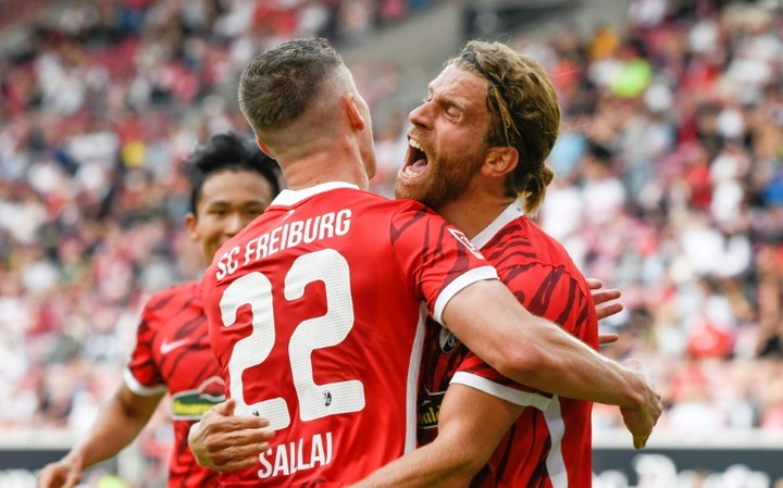 Freiburg remainS unbeaten in the Bundesliga this season. AFP
