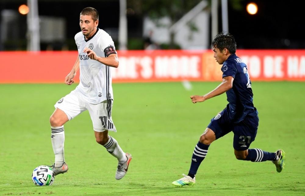 Felipe Hernandez banned by MLS over gambling scandal. AFP