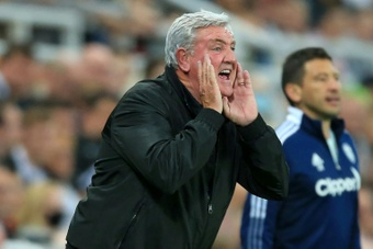 Steve Bruce is the new Newcastle manager. AFP