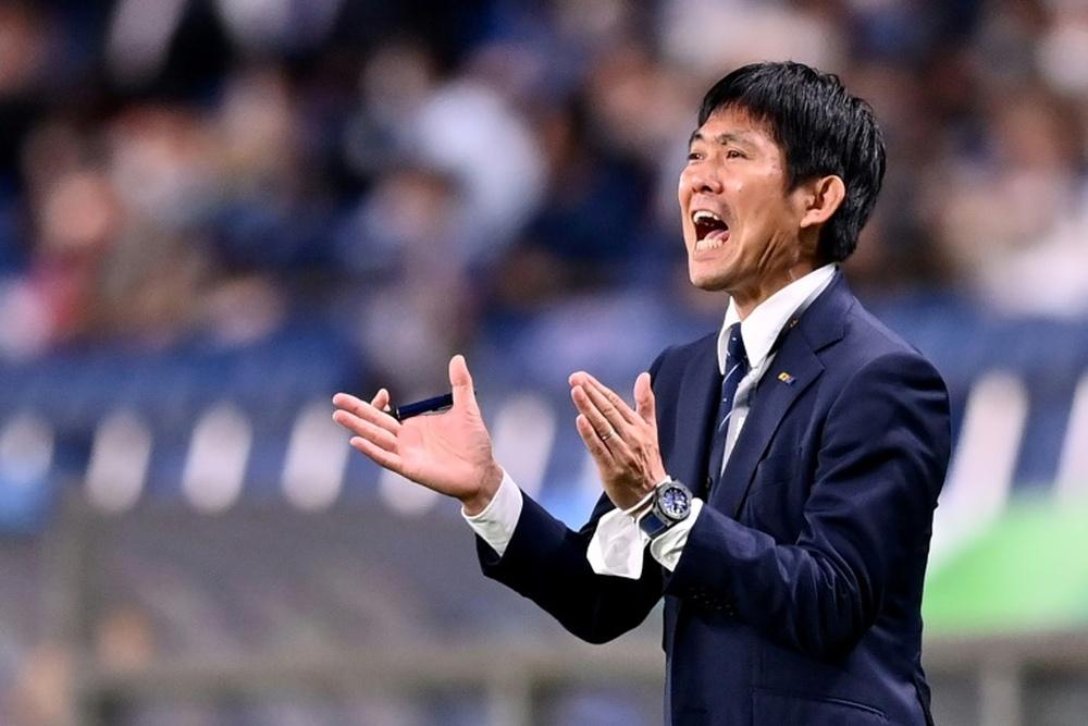 Moriyasu has called for Japan to build on 2-1 success over Australia. AFP