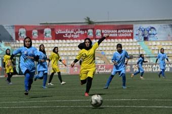 Des footballeuses afghanes évacuées en Australie. AFP