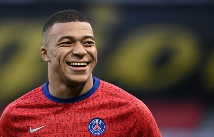 Mbappé dans le groupe du Paris SG pour Manchester City, Gueye aussi. AFP