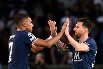 Un classique OM-PSG encore plus lumineux avec Messi. afp