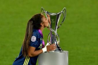 Records d'audience pour la finale de la Ligue des champions féminine. afp