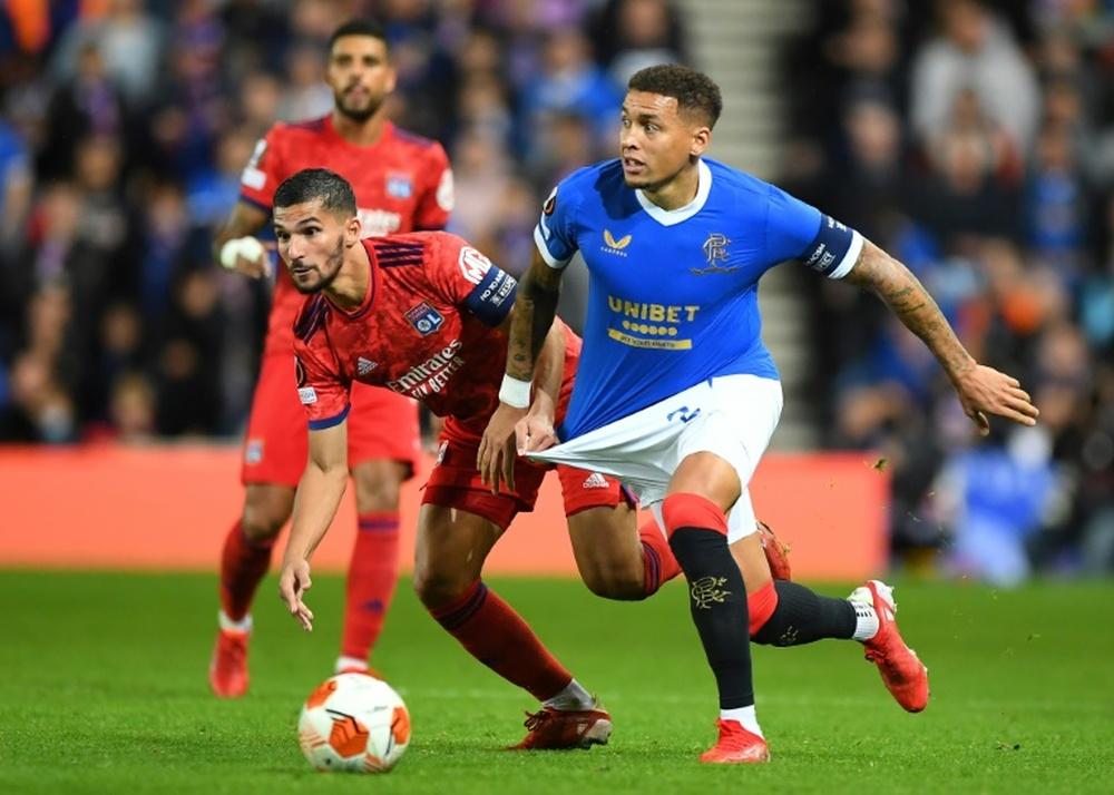 Lyon part du bon pied en gagnant chez les Rangers. AFP