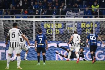 La Juventus arrache le nul (1-1) contre l'Inter Milan. AFP