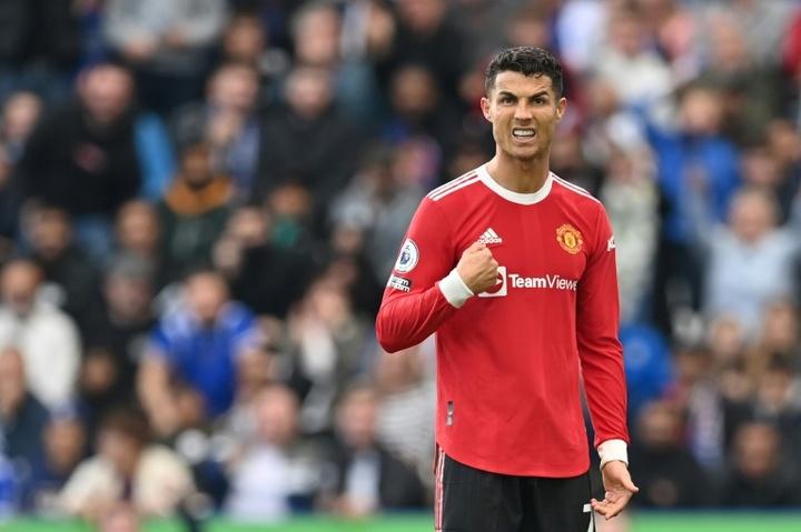 C1: Cristiano Ronaldo, un cadeau empoisonné pour Manchester United. AFP