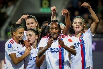 C1 dames: Lyon poursuit sa mission reconquête en étrillant Benfica.